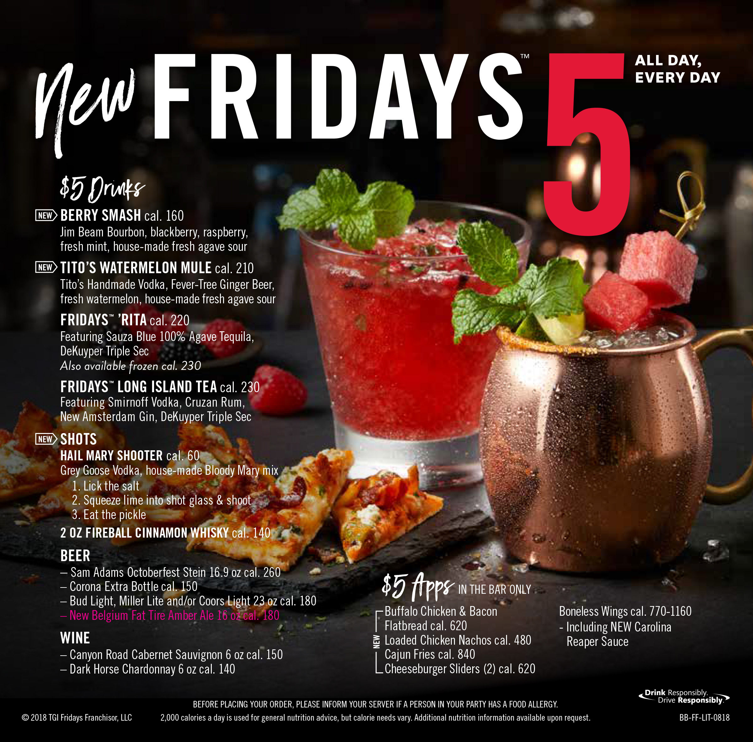 tgi fridays™ goes big with kirk herbstreit to promote game day fan