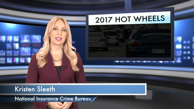 Hot Wheels 2017 | America's 10 Most Stolen Vehicles