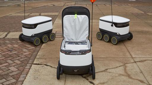 Sodexo and Starship Technologies delivery robots