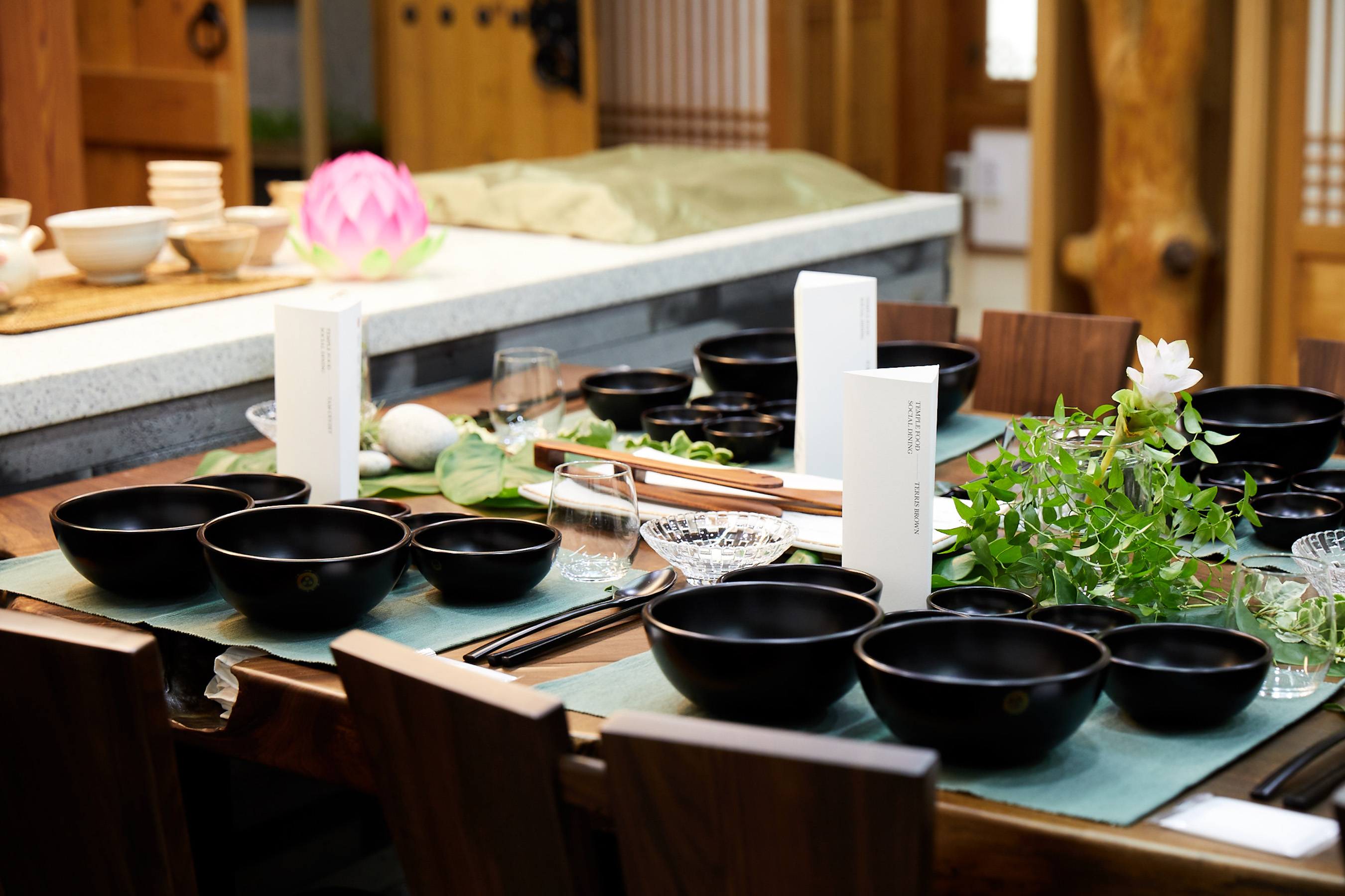 Baru Gongyang Table Setting