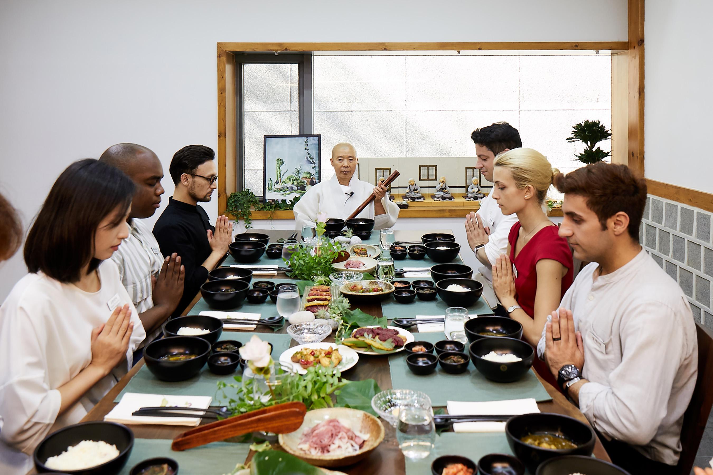 Experience of Baru Gongyang, The Korean Buddhist Monastic Meal Torino-Crocetta, Italy