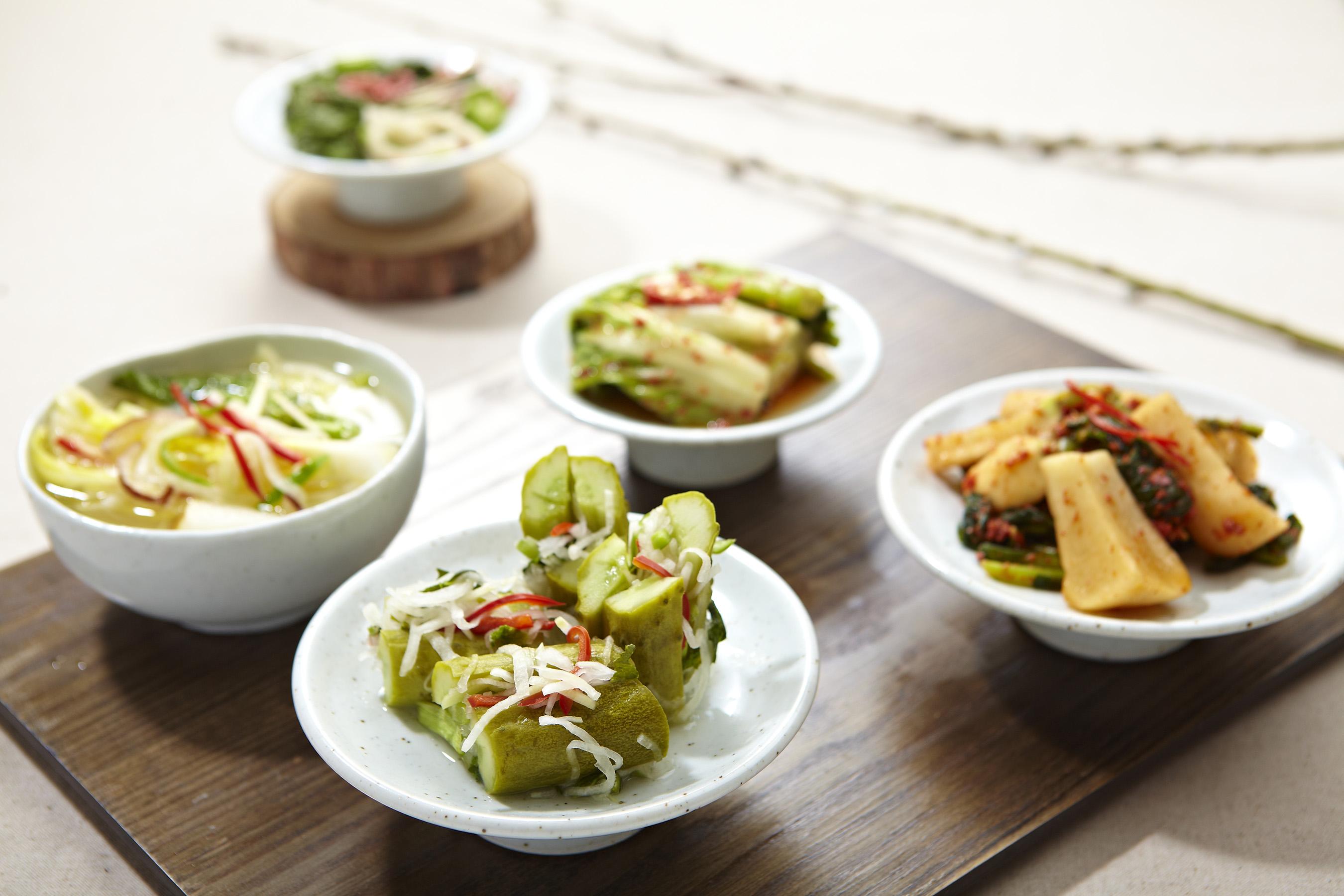 Kimchi variations