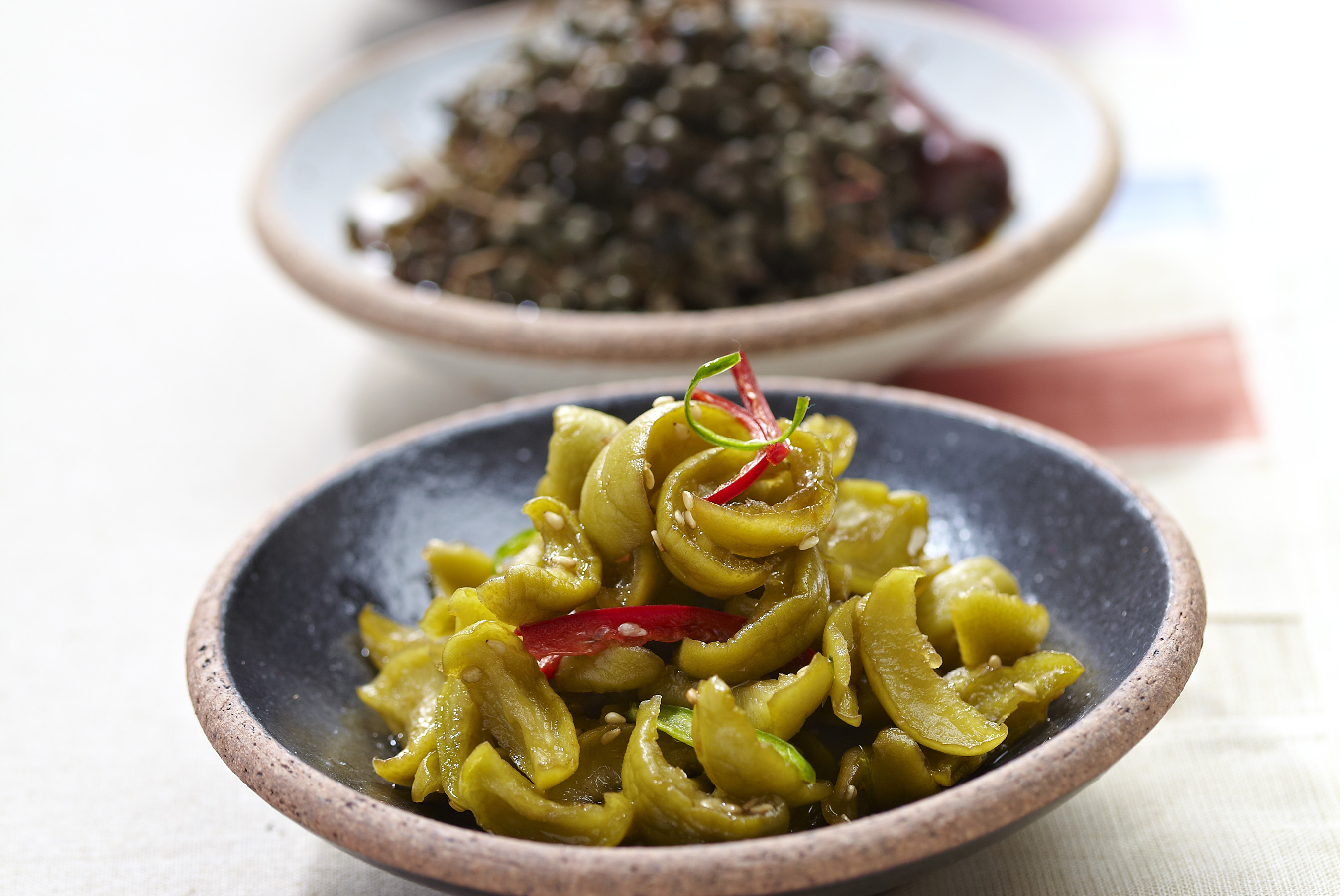 Pickles-mashil, sancho, gajuke-namul