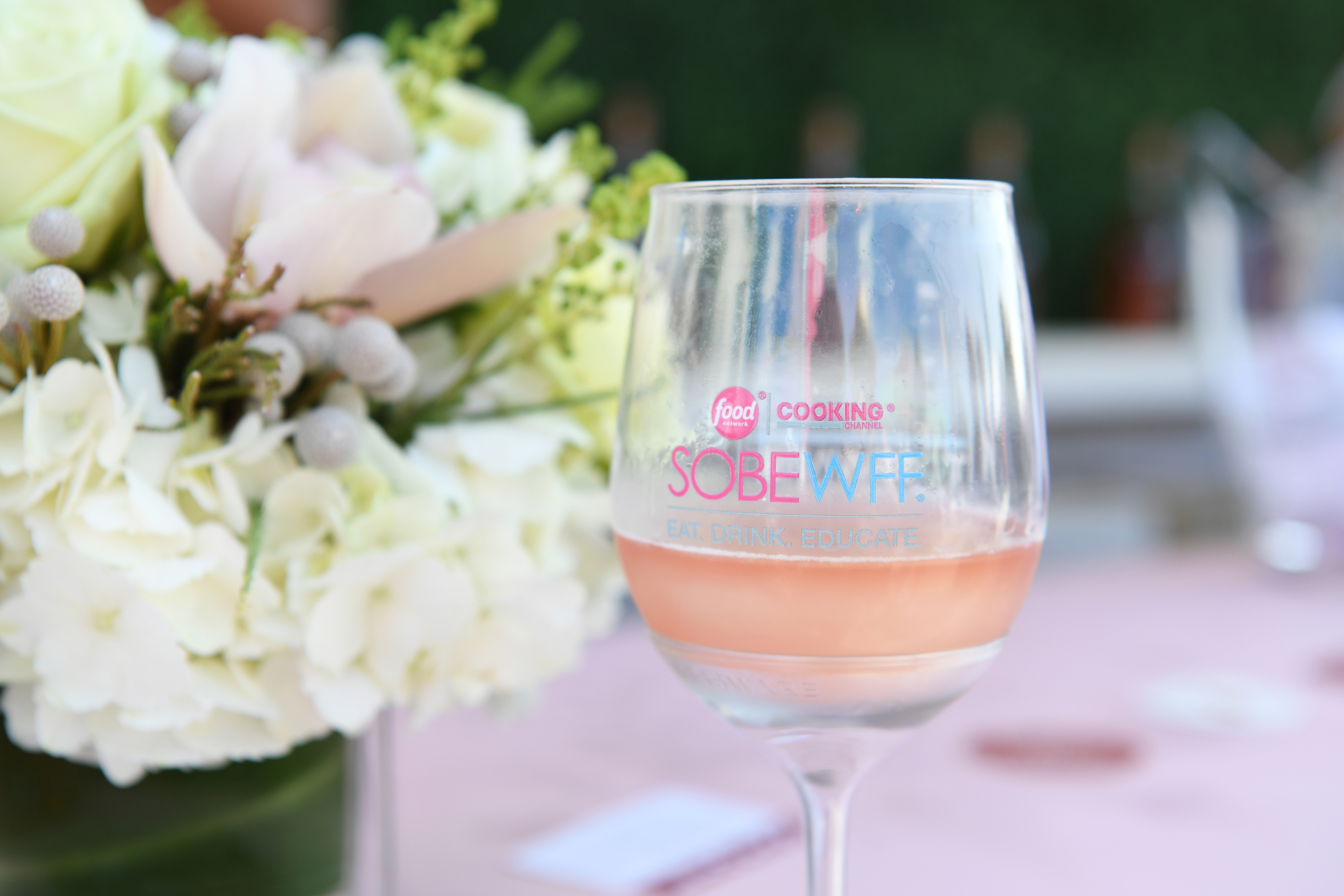 DRINK. - Sip on offerings from 300+ wine & spirits brands at the 18th annual Food Network & Cooking Channel South Beach Wine & Food Festival (SOBEWFF®)!