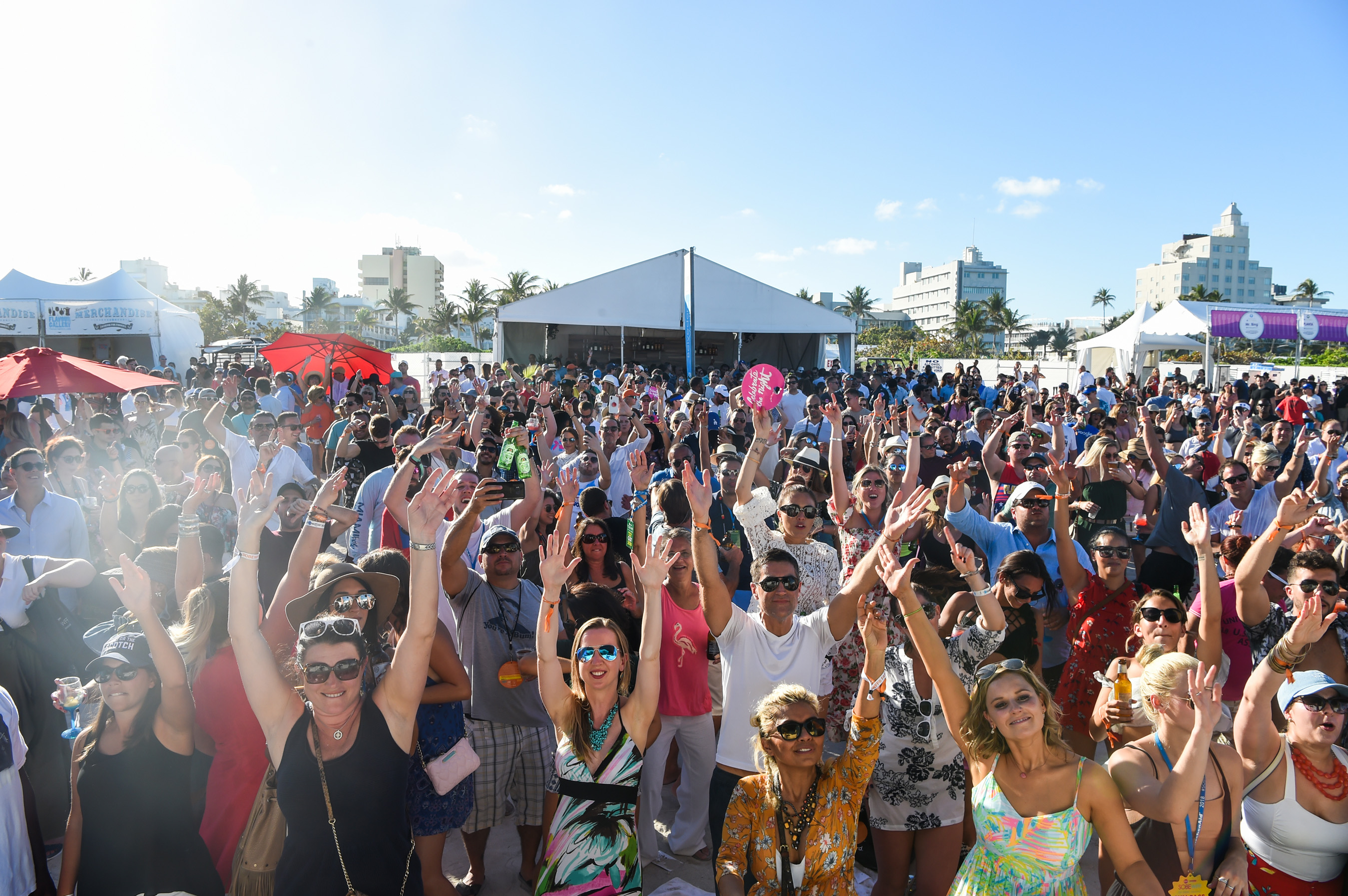 Crowd Enjoys The David Grutman Experience During the 2018 Food Network & Cooking Channel South Beach Wine & Food Festival (SOBEWFF®).
