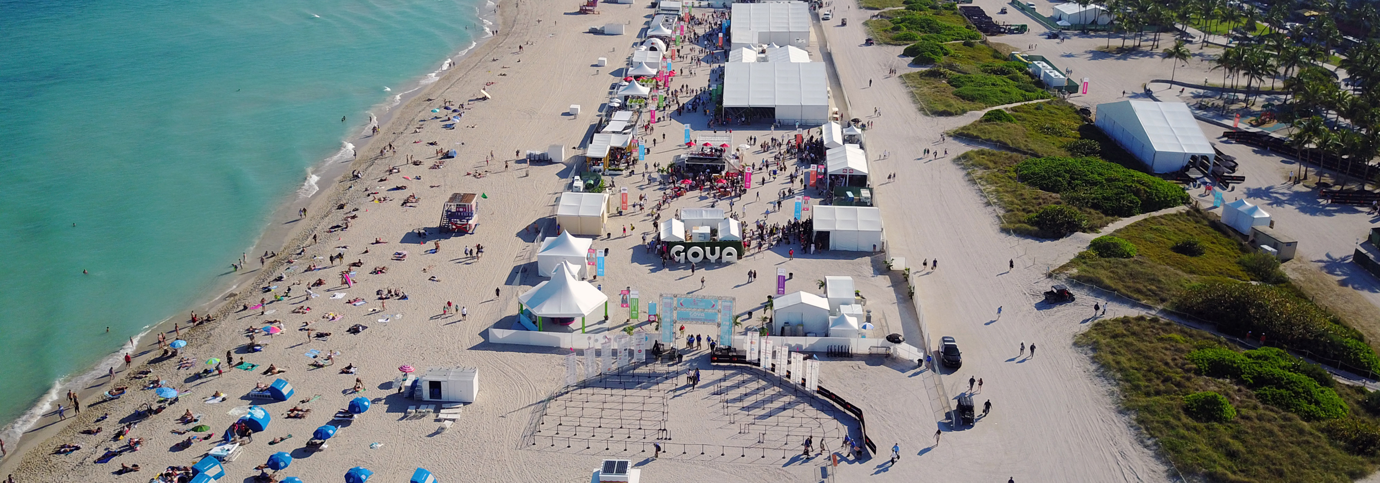SOBEWFF stretching across South Beach