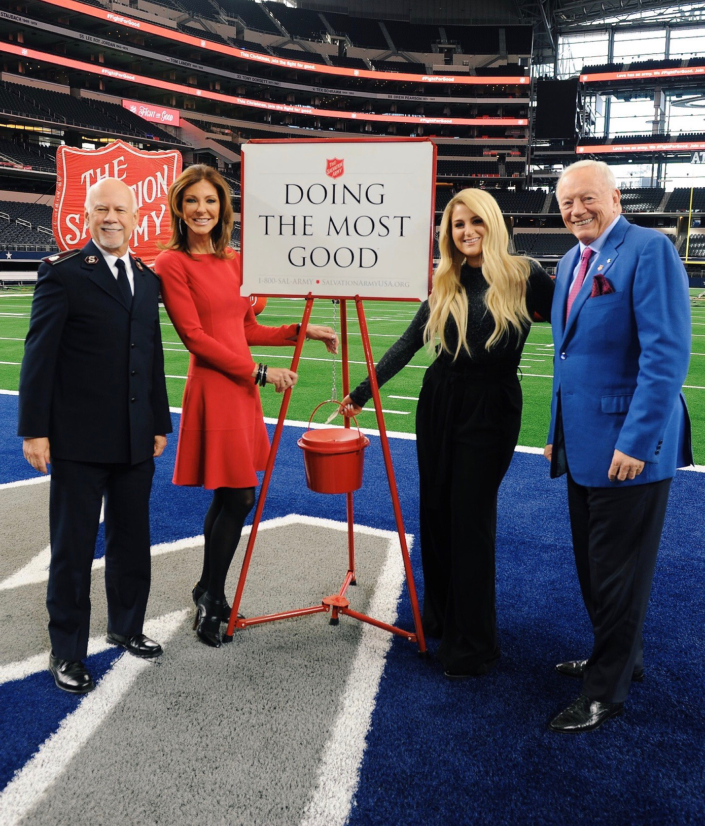 The Salvation Army and the Dallas Cowboys have been partners for 22 years