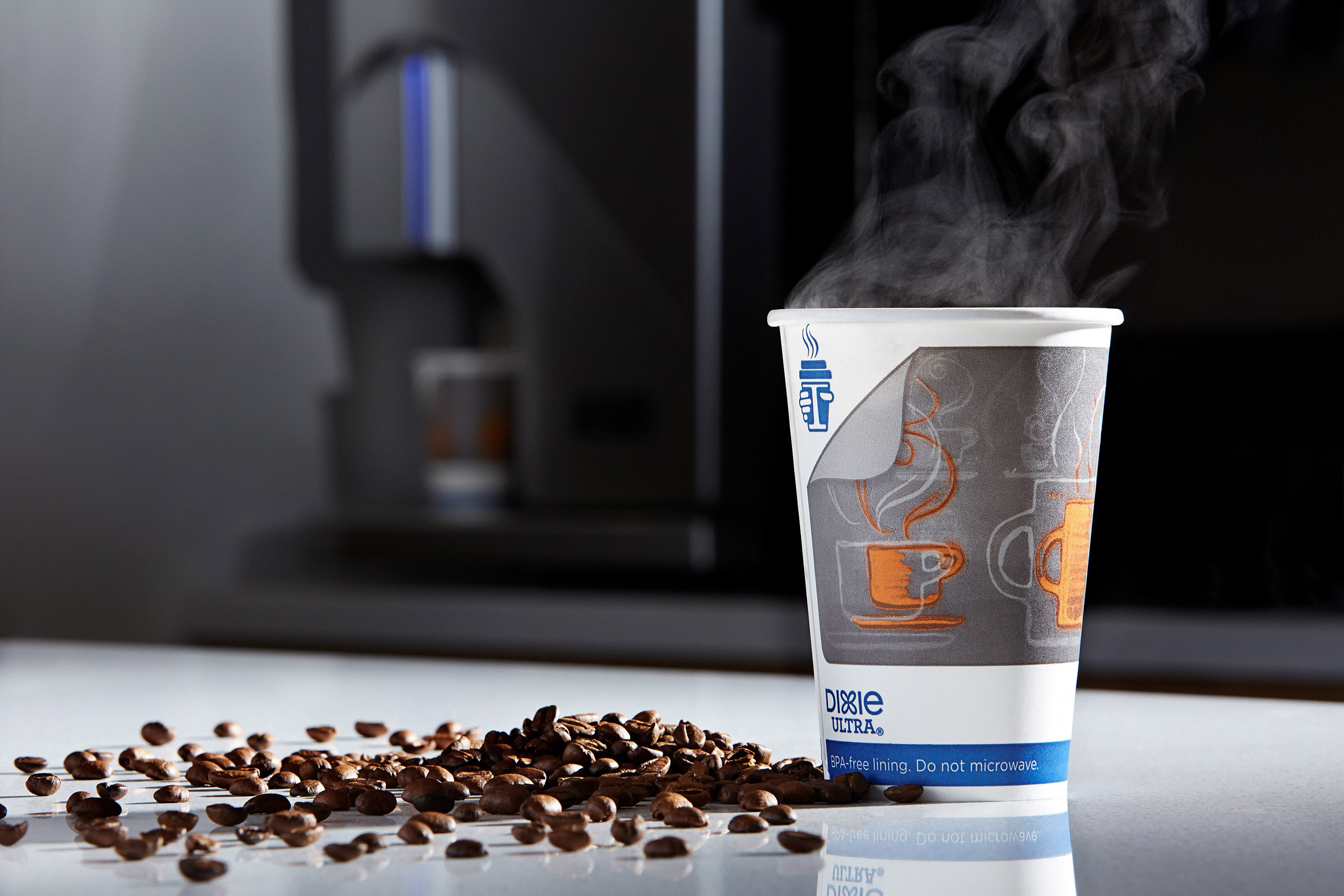 The Dixie Ultra® Insulair™ Hot Cup is the coolest hot cup in the category.