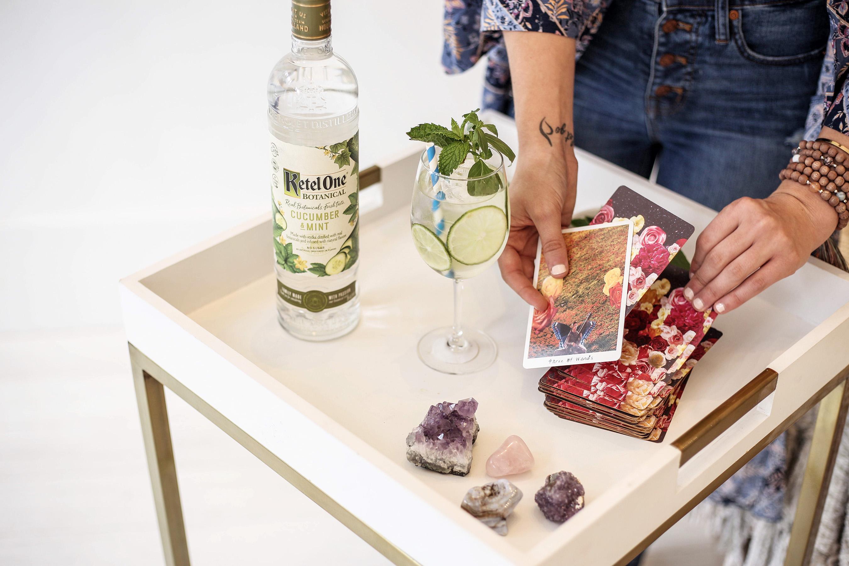 Ketel One Botanical Mystically Mint by Kate Van Horn