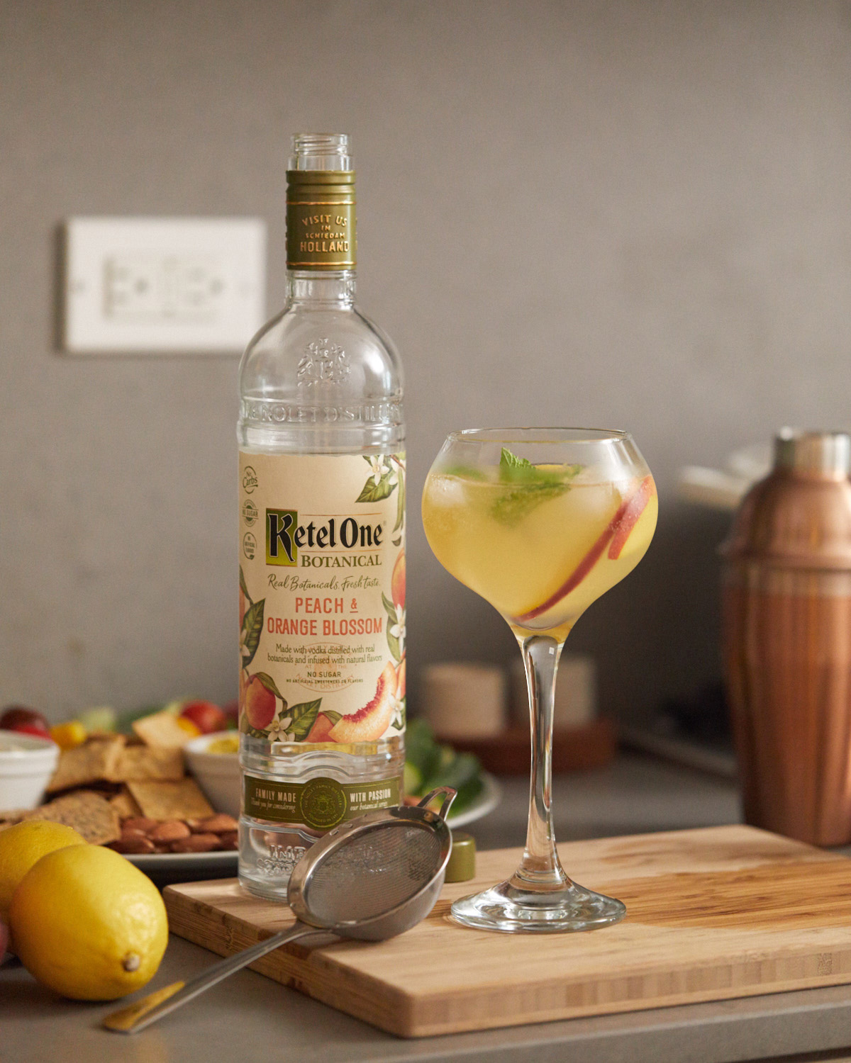 Ketel One Botanical Peachy Clean by Lily Kunin