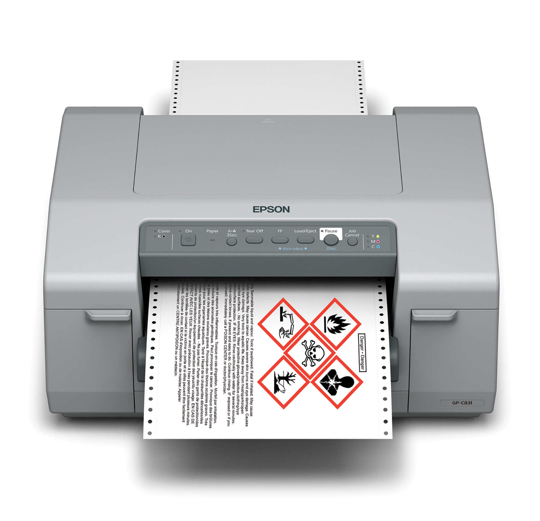 Epson ColorWorks C831 Inkjet Label Printer