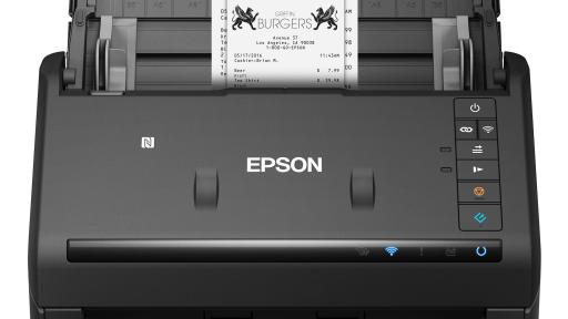 The WorkForce ES-500WR duplex document scanner comes with premium accounting features, makes it easy to organize your finances and enables you to wirelessly scan documents, receipts and invoices.