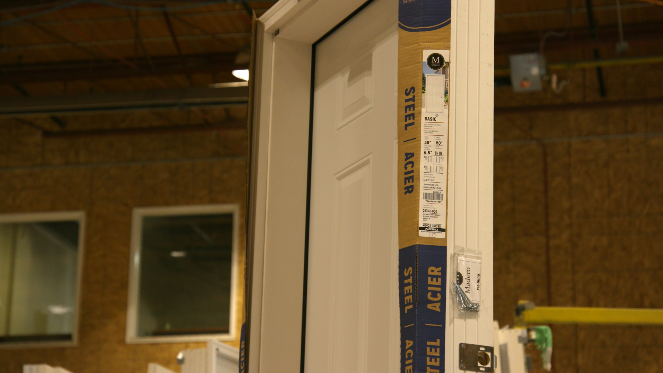 The Epson ColorWorks C7500G delivers specialized labels for commercial and residential doors