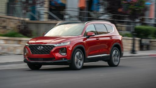 The 2019 Hyundai Santa Fe