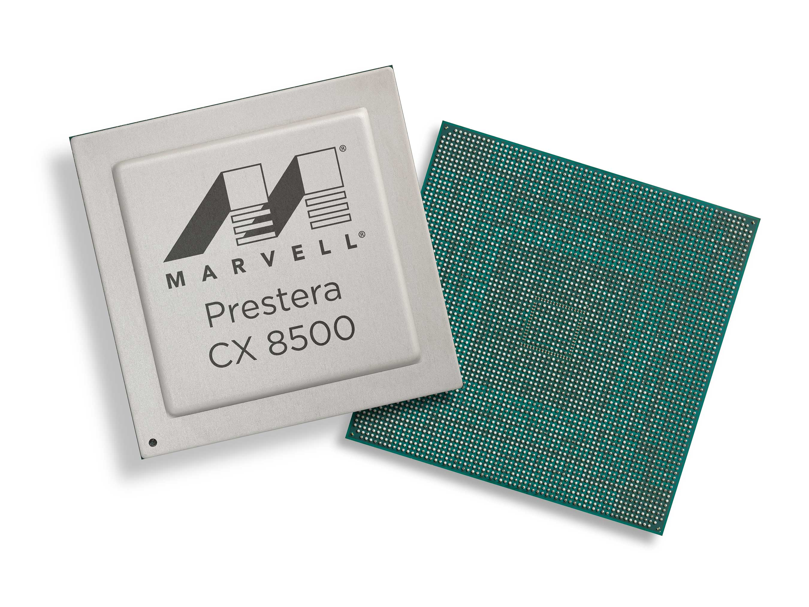 The Marvell Prestera CX 8500 portfolio represents a revolutionary approach to data center architectures with features offering unprecedented workflow visibility, analytics and network simplification to support QoS, traffic management and scalability.