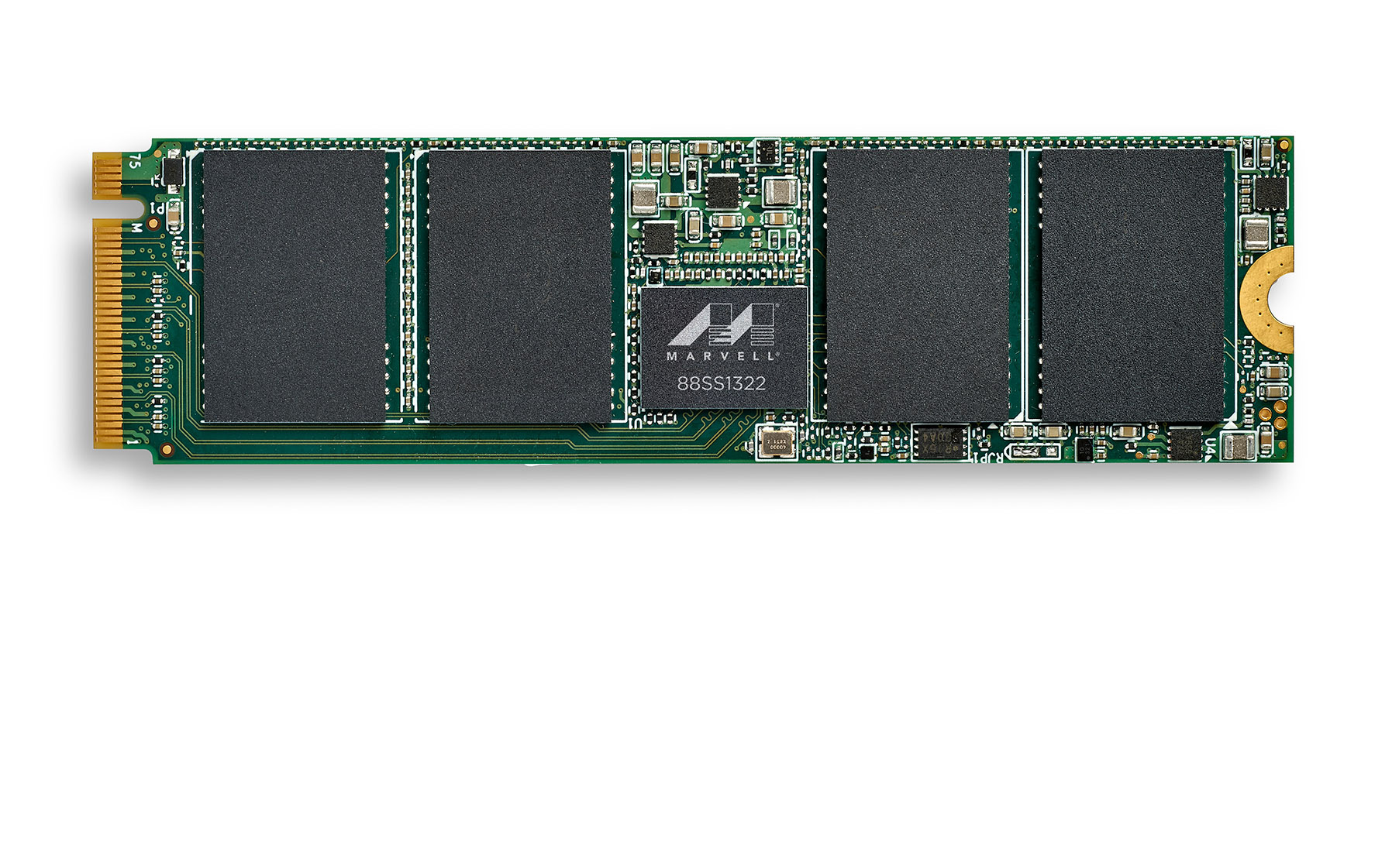 m.2280 DRAM-less SSD Reference Design with Marvell® 88SS1322 PCIe® Gen4 NVMe™ SSD Controller