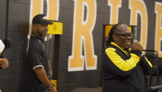 B-Roll package of the newly renovated weight room, student and faculty first reactions