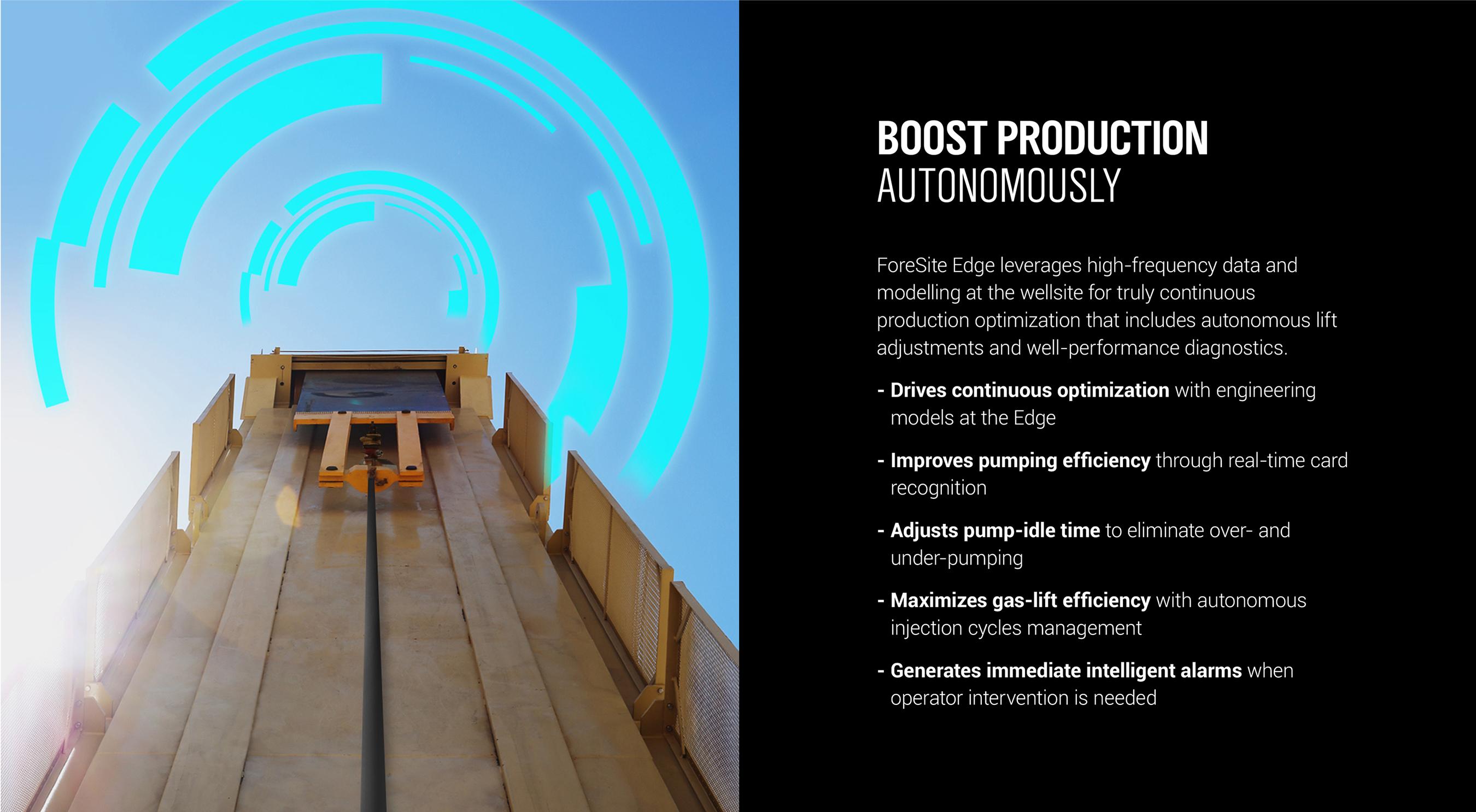 Boost production autonomously