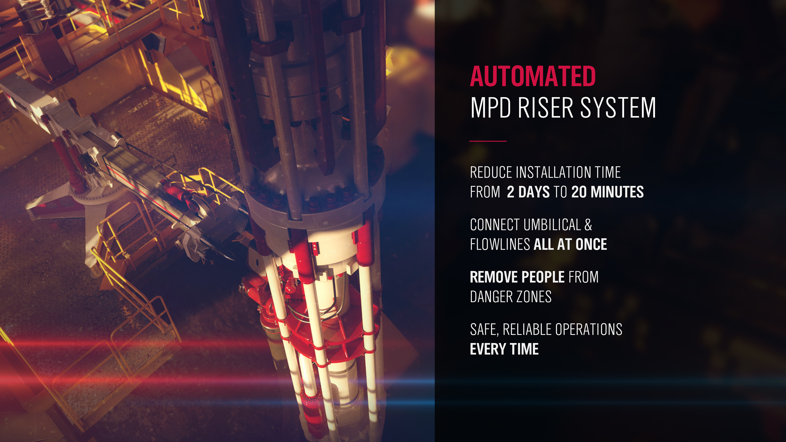 Automated MPD Riser System