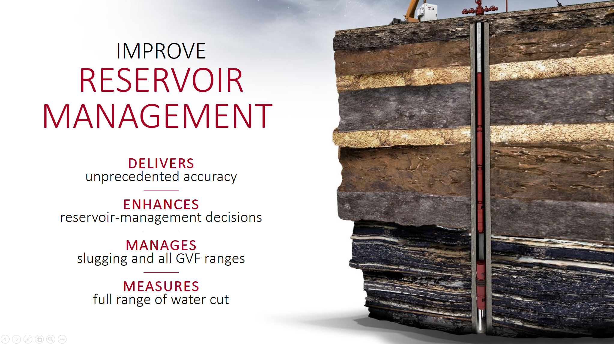 Improve reservoir management
