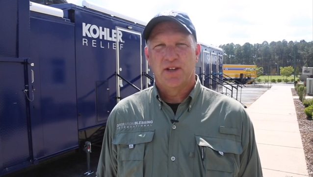 KOHLER Relief Trailer Provides Support Following Hurricane Florence
