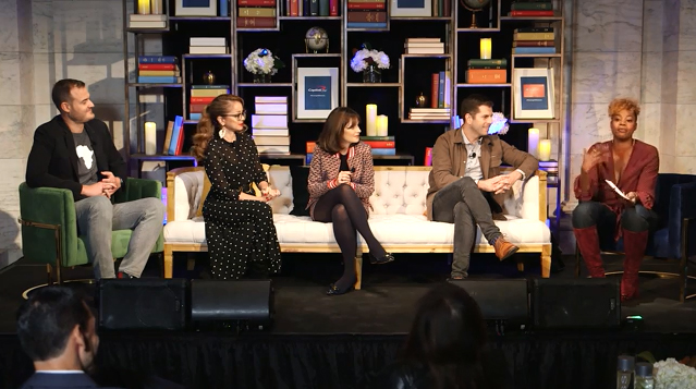 The Purpose Project(SM) by Capital One®, a program to shift the conversation around meaningful travel, launches at an event on Wednesday, October 24, 2018, in New York City with special guests Zooey Deschanel, Marcela Valladolid, Brian Kelly, Zach Houghton and Noelle Scaggs.