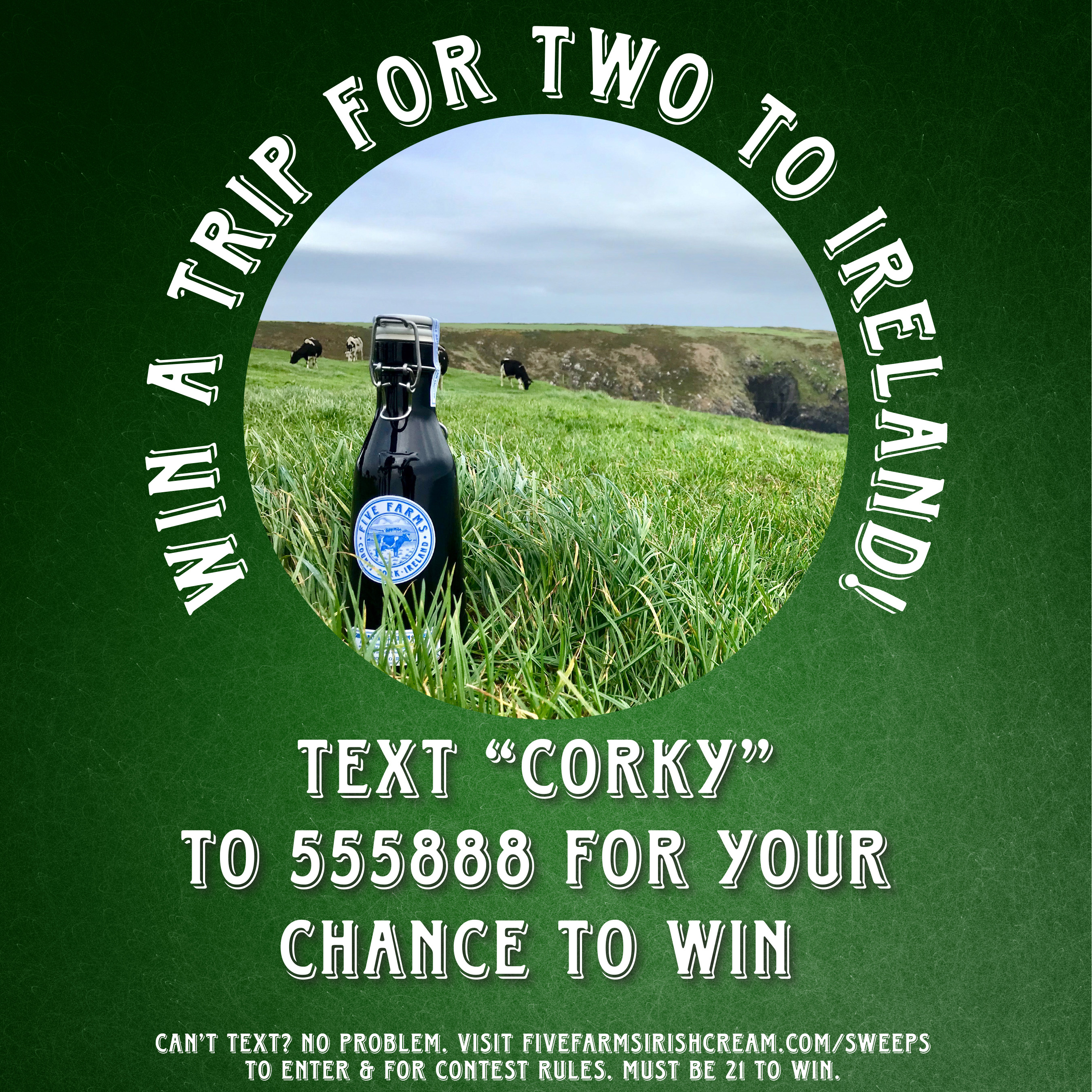 Win a trip to County Cork, Ireland!