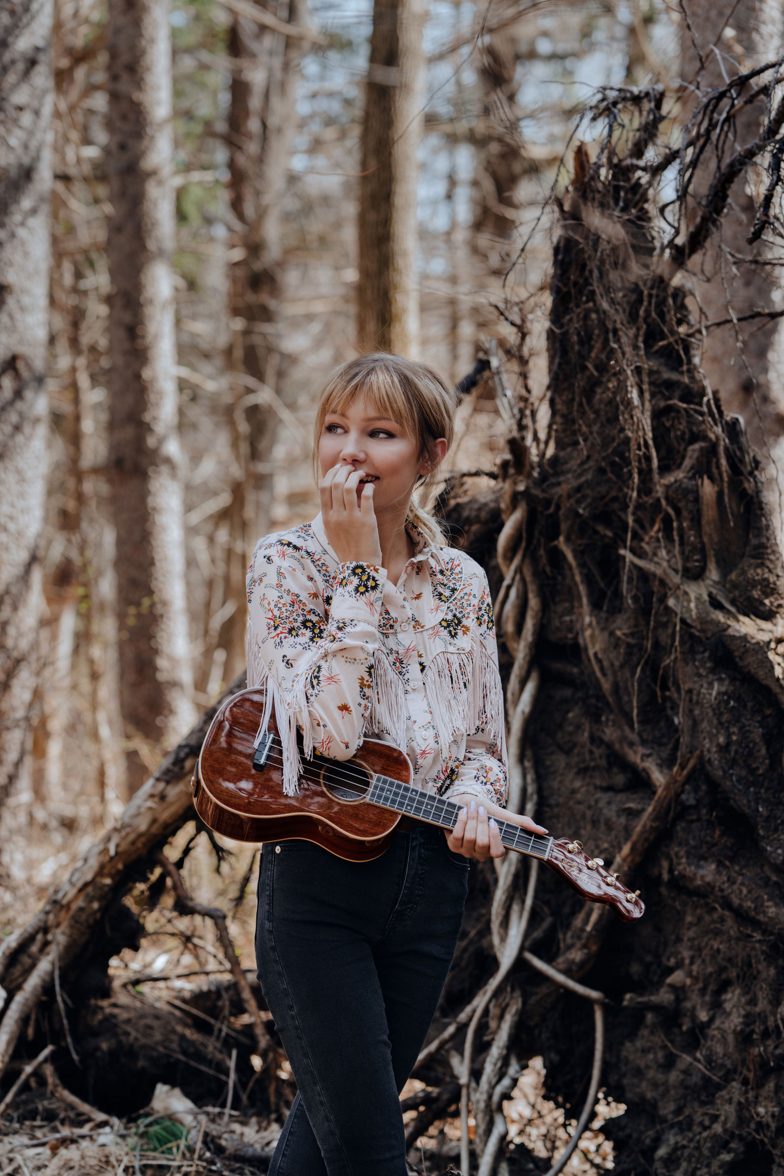 Grace VanderWaal, Fender's youngest signature artist, releases her performance-inspired Grace VanderWaal signature ukulele with Fender, available now on Fender.com and at local dealers.