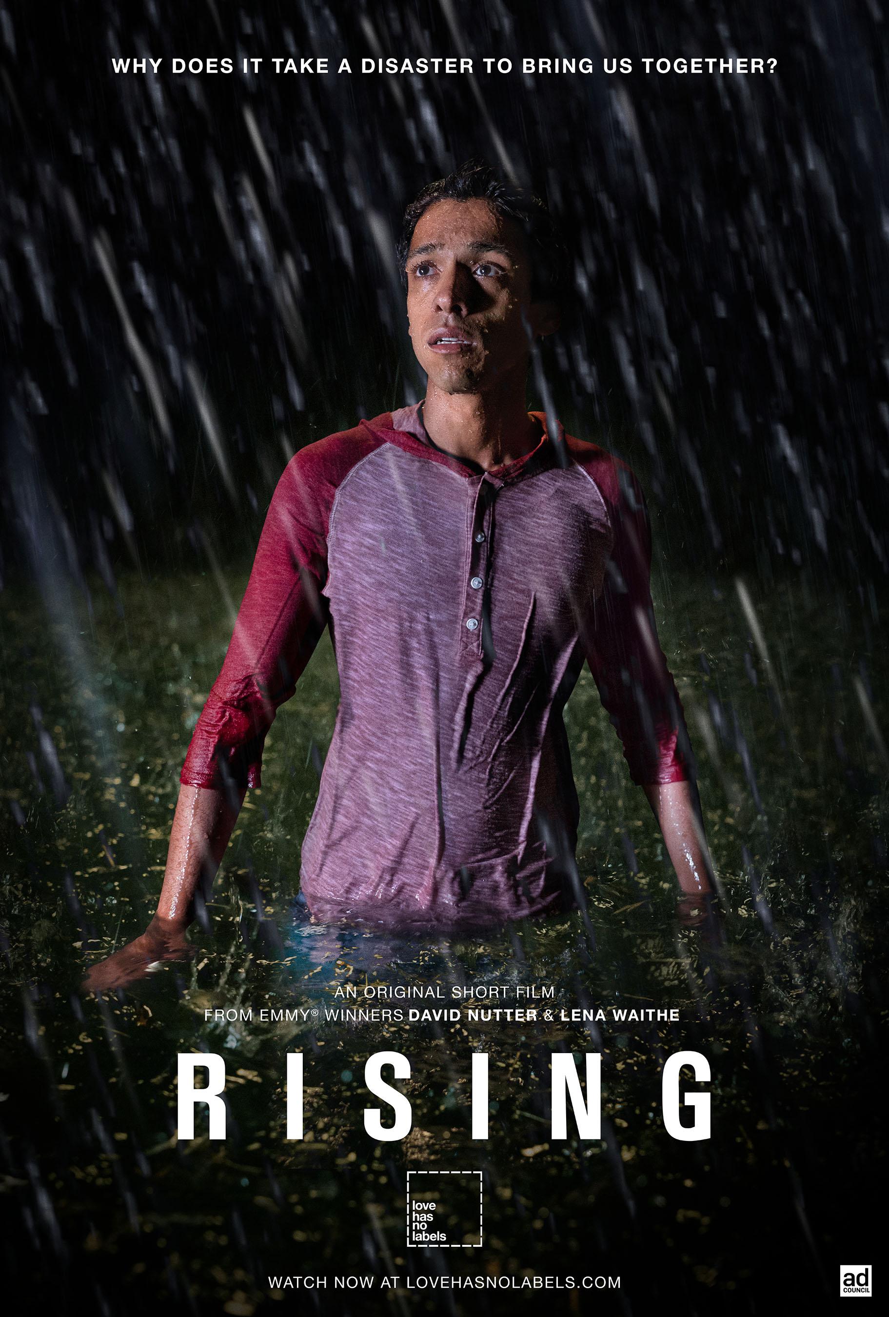 Rising | Portrait Poster