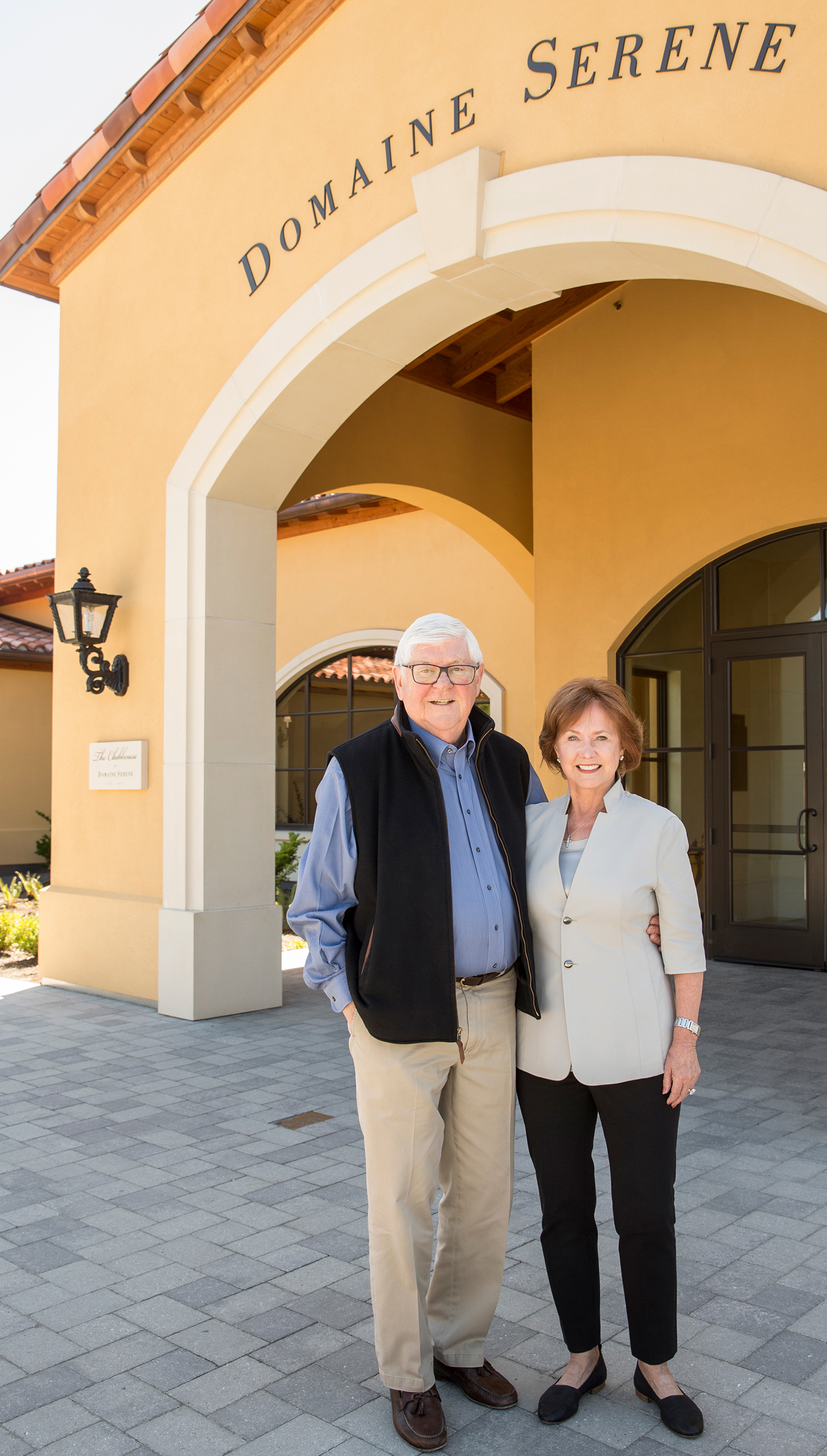 Domaine Serene Founders to Receive Wine Spectator's Highest Honor