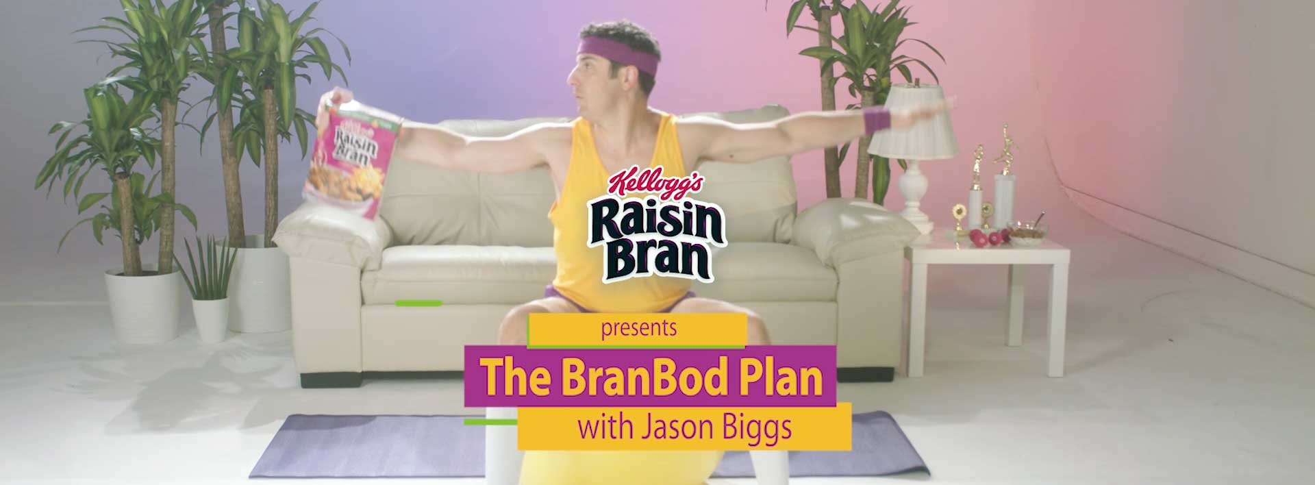 Jason Biggs Introduces His Kellogg's Raisi...