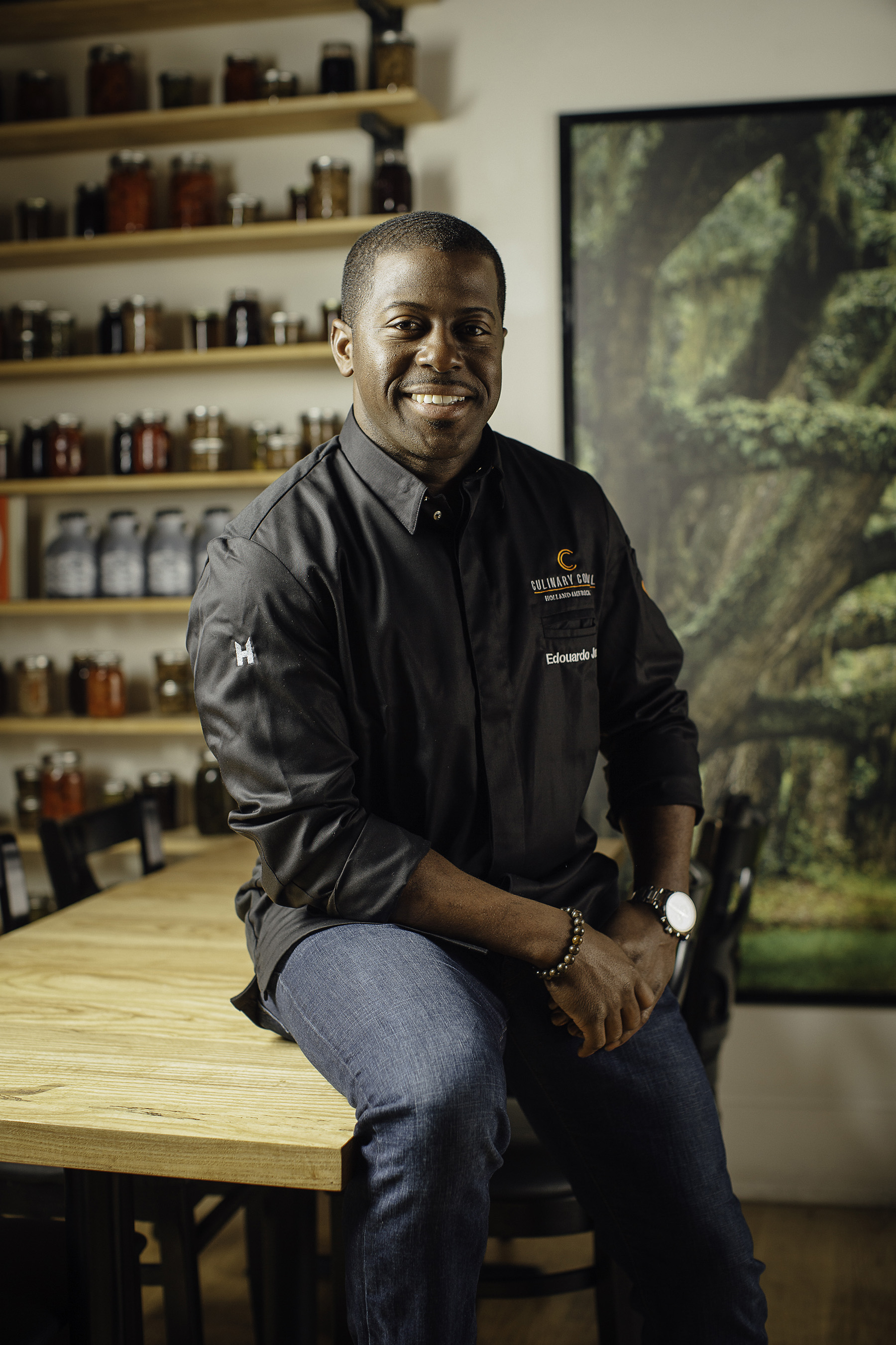 Edouardo Jordan Joins Holland America Line's Culinary Council