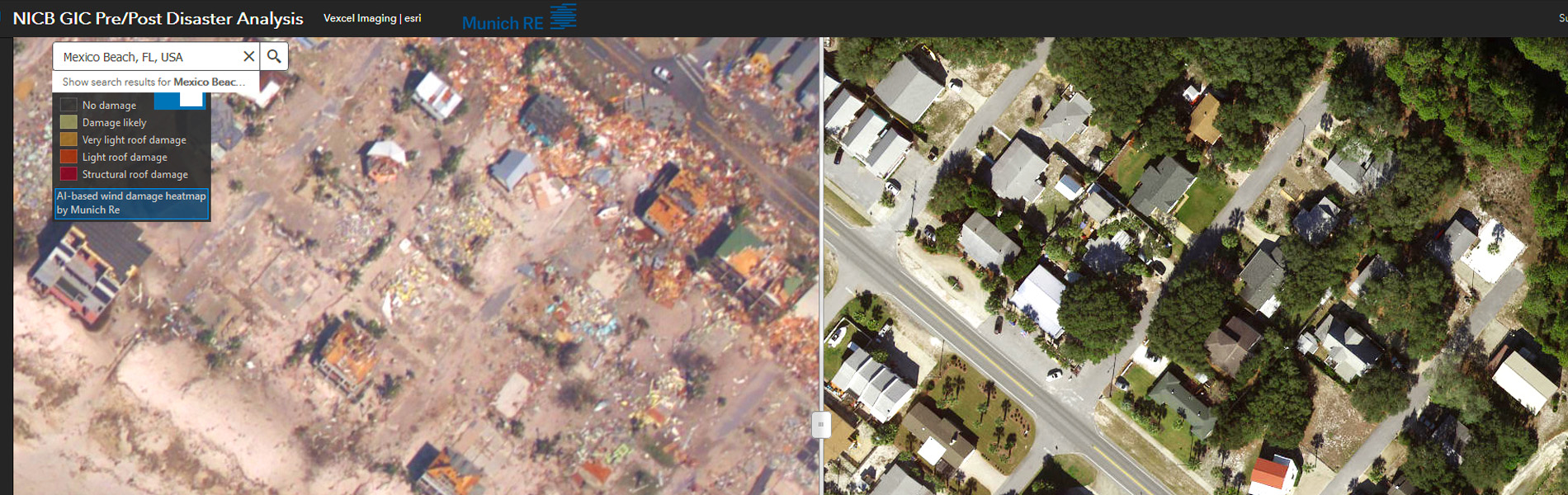 Geospatial Intelligence before and after