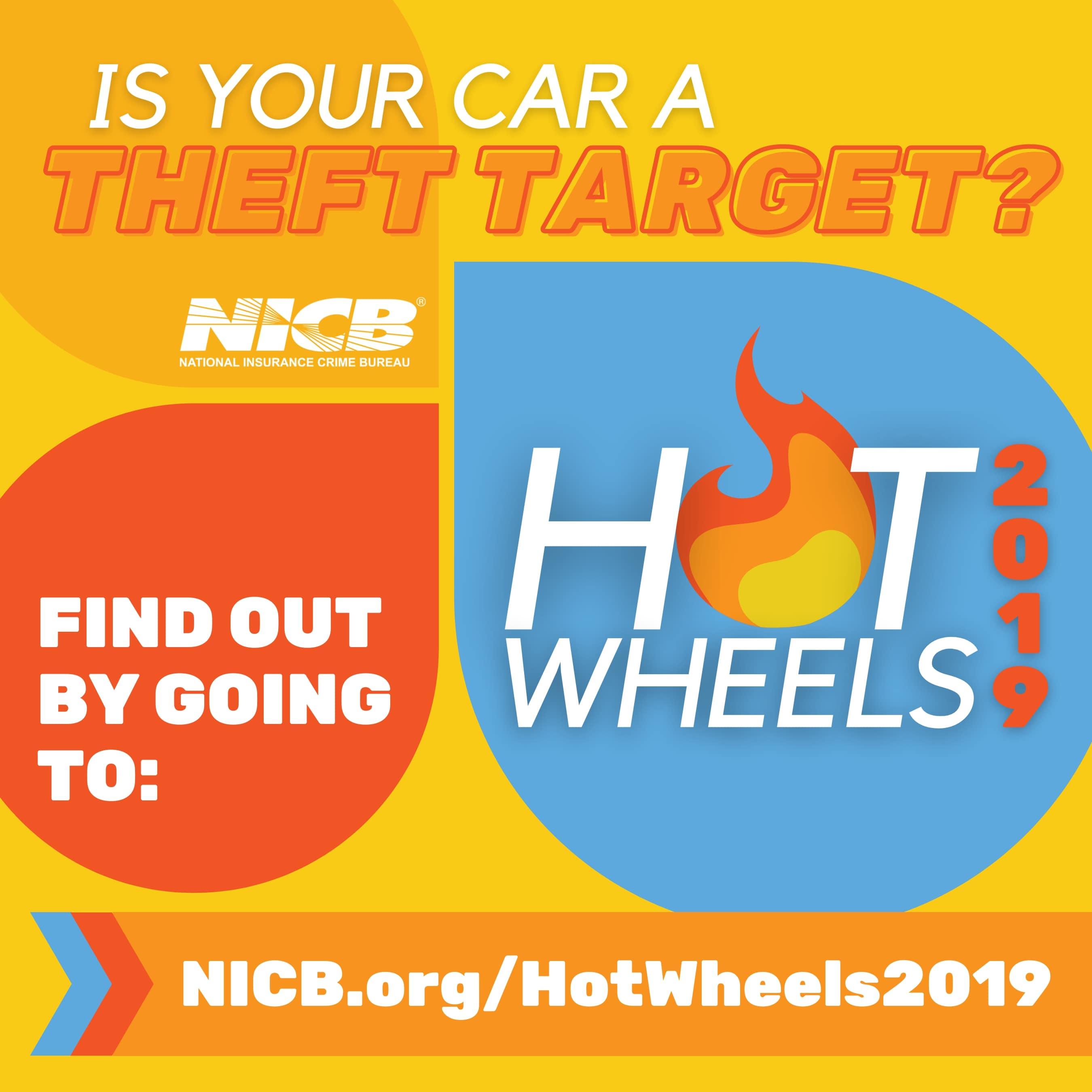 NICB Hot Wheels 2019 Report