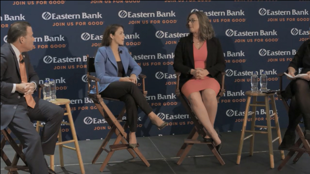 Aly Raisman and Eastern Bank Shine A Light On Child Sexual Abuse Prevention