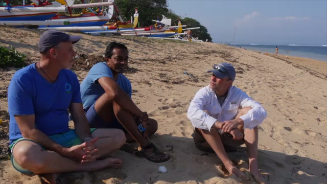Conservation International and SC Johnson visit Indonesia for a dive and to discuss ocean health.