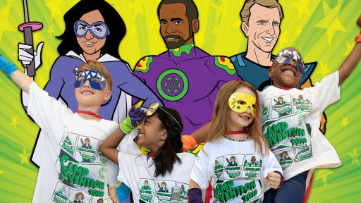 Campers team up with the Innovation Force to battle the evil Plagiarizer, a supervillain who is out to steal the world's greatest ideas.