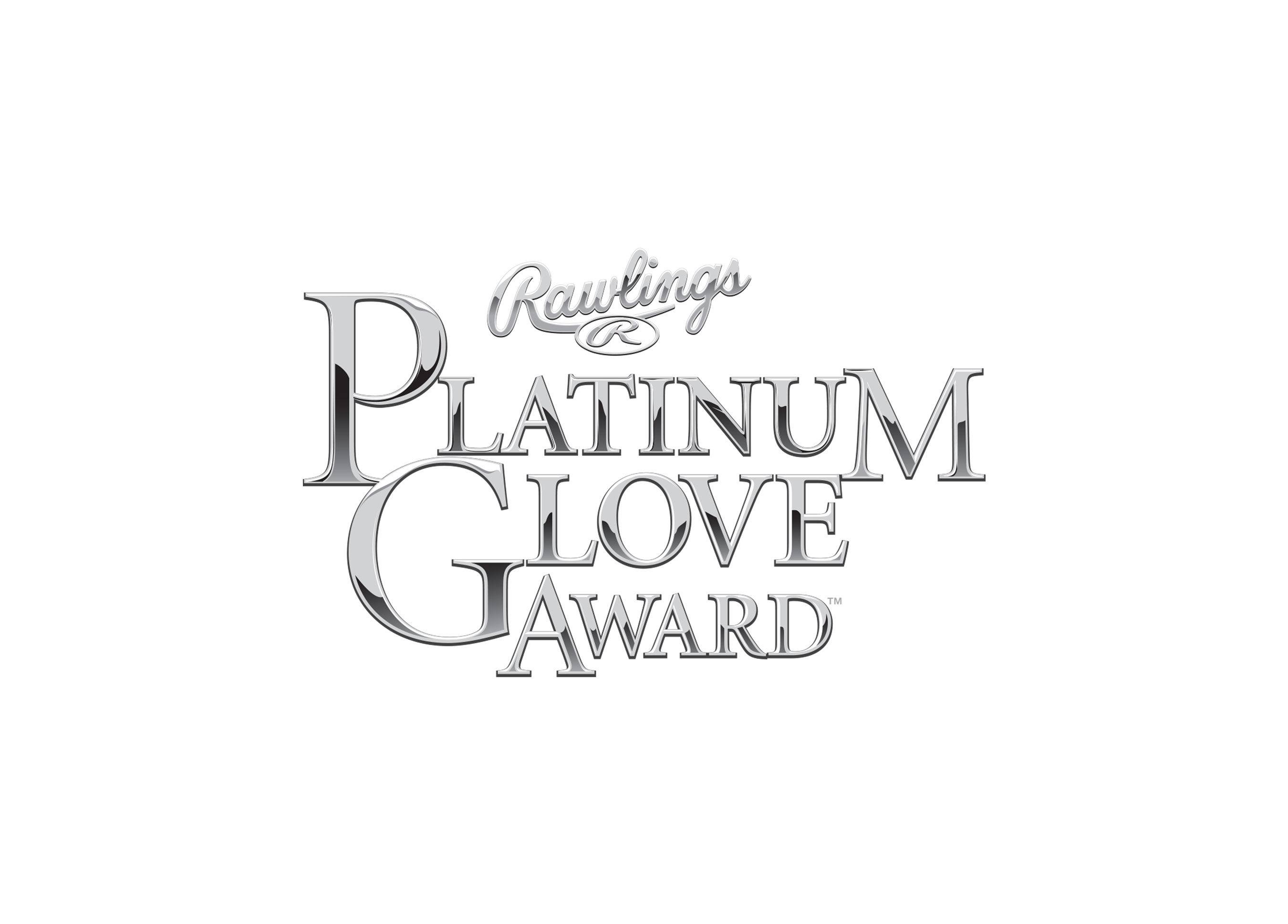 Rawlings Platinum Glove Award logo