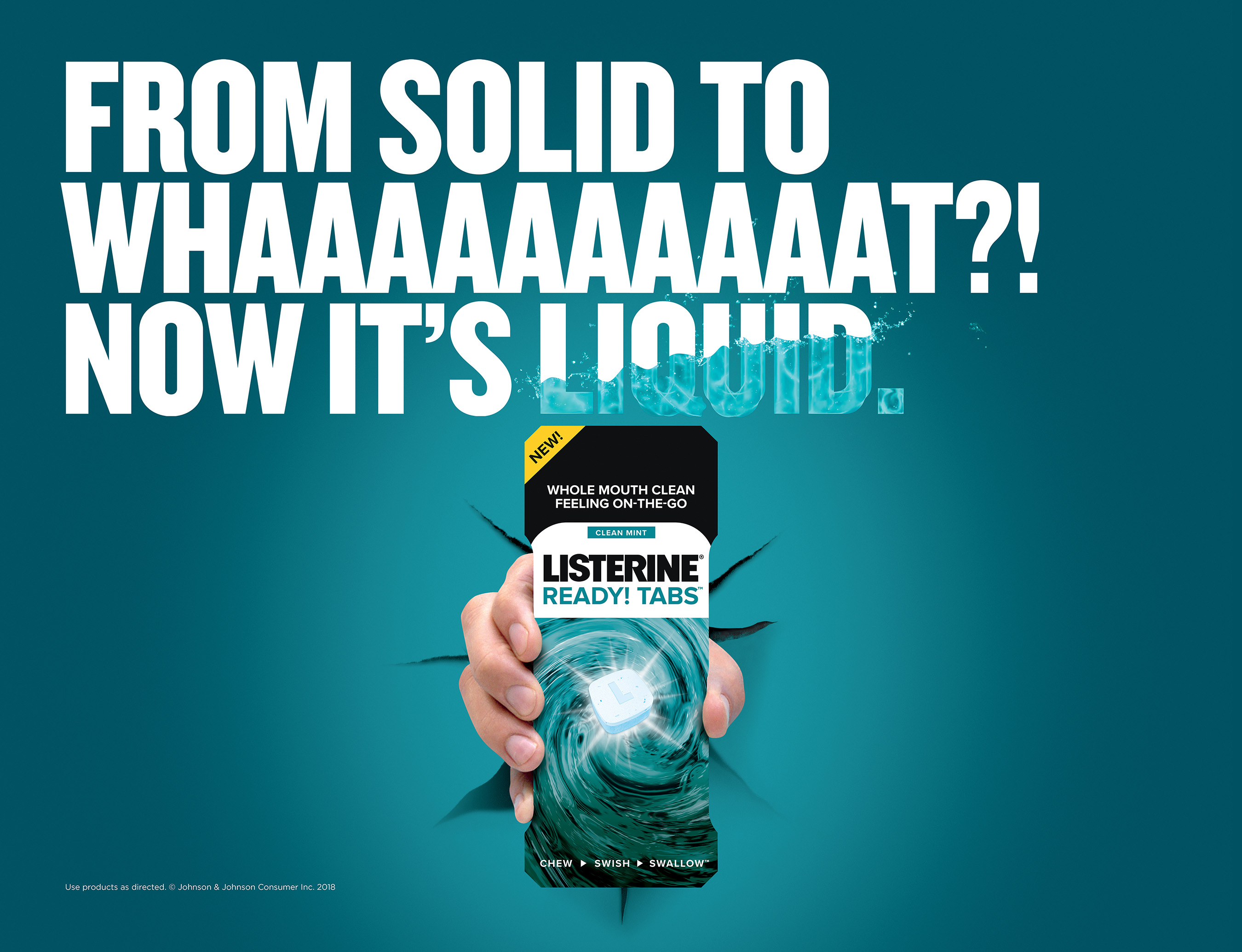 Introducing the NEW LISTERINE® READY! TABS™