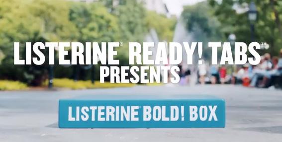 LISTERINE® Bold Box Challenge