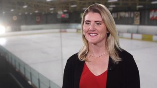 Olympic gold medalist Hayley Wickenheiser shares finds the latest information for herself as a caregiver and her parents on the Lumino Health network.