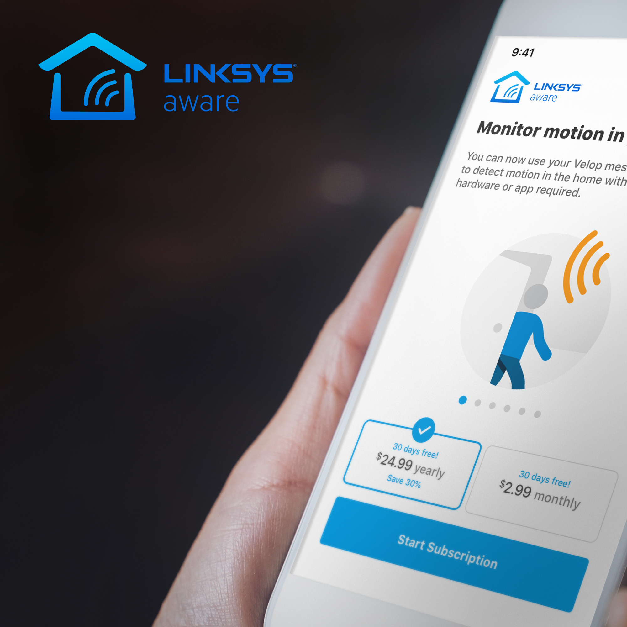 Linksys Aware Lifestyle 2