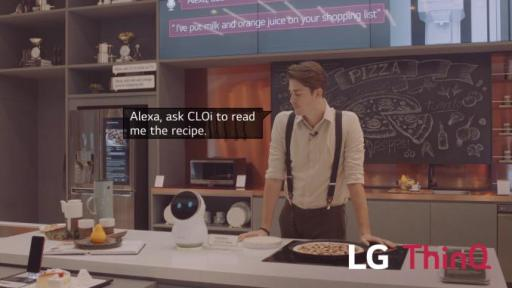 LG's AI brand LG ThinQ can lend a helping hand in the kitchen, making cooking at home a breeze. Let LG ThinQ inspire your next dish or read out recipes while you concentrate on making the perfect meal