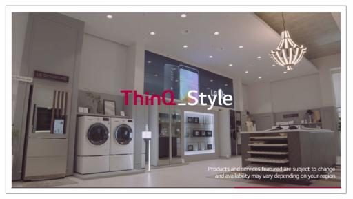 Keep your favorite clothes fresh and clean through one easy voice command. LG's AI brand LG ThinQ means cleaning clothes has never been simpler