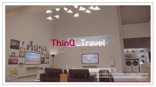 How to Plan a Stress-Free Trip / LG ThinQ products can make your lives easier and more convenient as your AI travel guide without stress