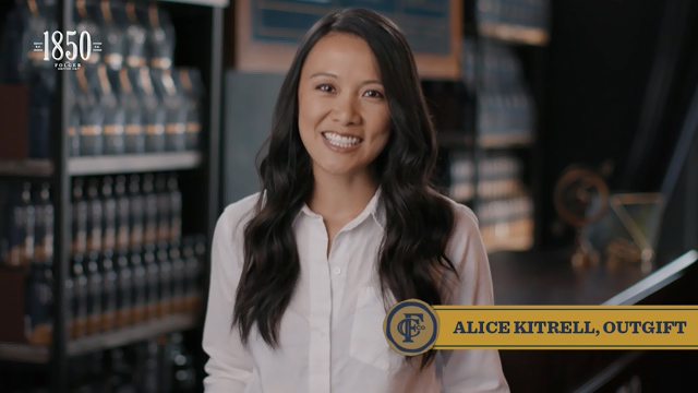 Alice Kittrell, a finalist of the 1850™ Brand Coffee Bold Pioneer Contest, is the founder and CEO of Outgift, an intelligent gift recommendation platform dedicated to finding shoppers the perfect gift ideas in under one minute.