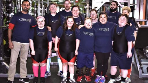 Anytime Fitness of Vancouver has been supporting Special Olympics athletes for 10 year.