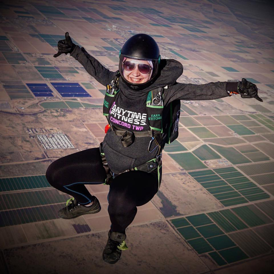 Anytime Fitness members, like Bella Vishanetskaya, tend to be thrill seekers. On all seven continents, Anytime Fitness will soon be helping its members lead healthier - and happier - lives.