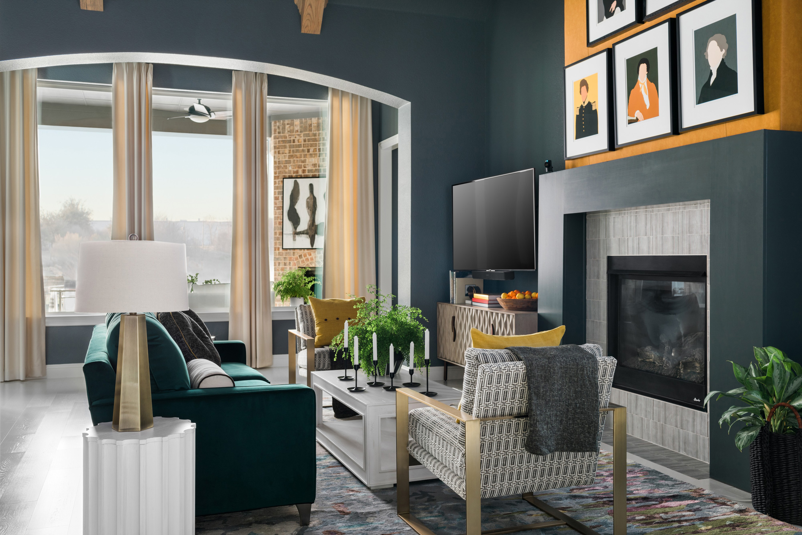 hgtv livingrooms take a virtual tour of hgtv smart home 2019 located in the dallas fort worth suburb of roanoke 3248