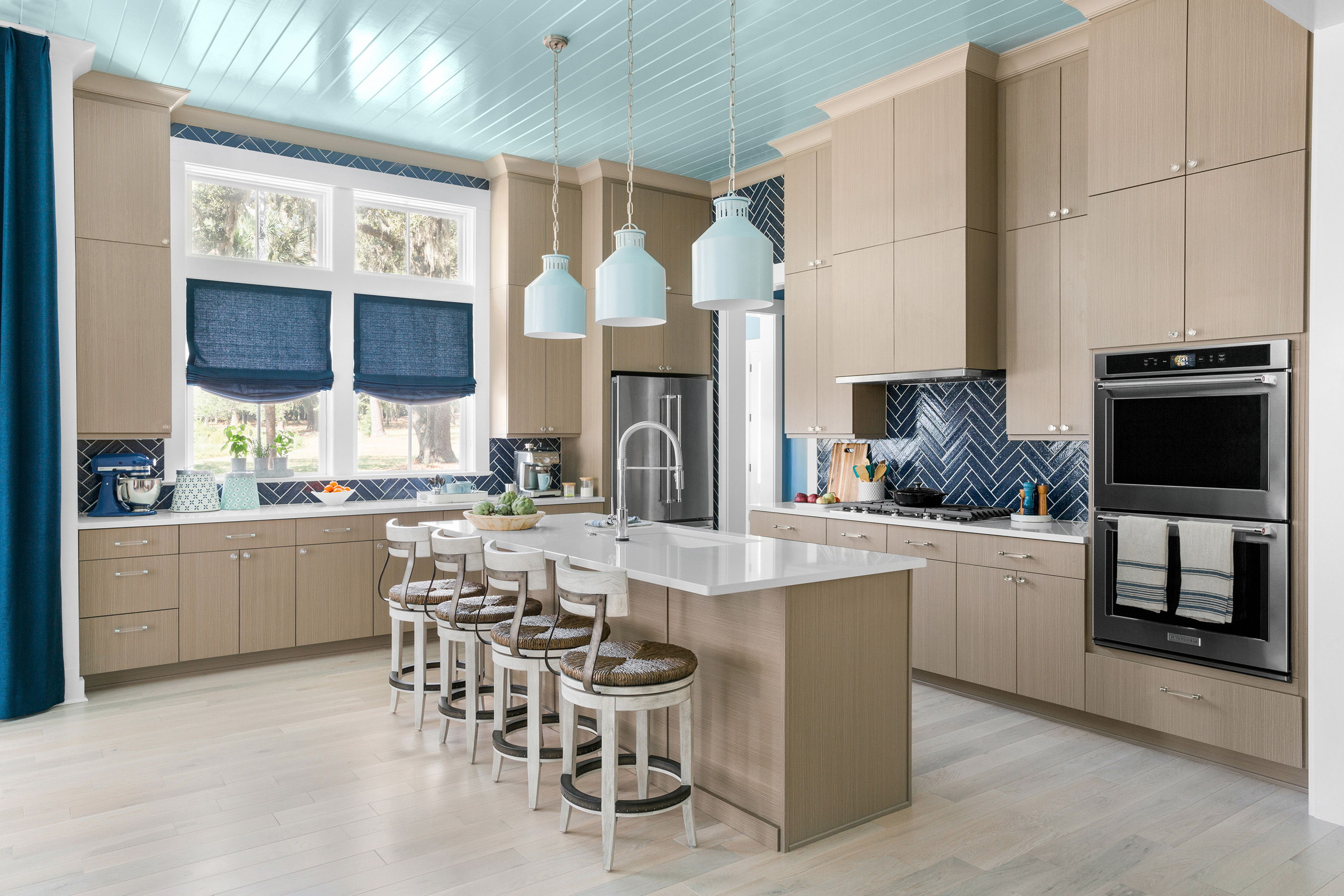 The HGTV Dream Home 2020 kitchen is a chef's dream and includes state-of-the-art professional appliances.